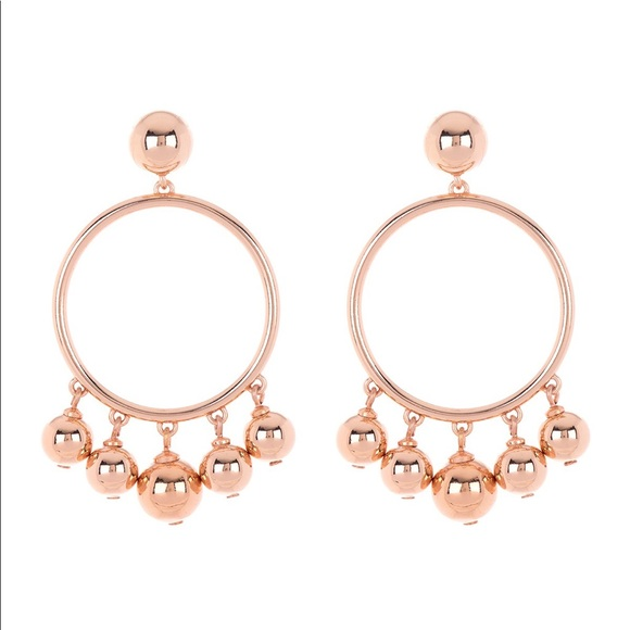 kate spade Jewelry - 🆕 Kate Spade Rose Gold Plated Ball Bauble Drop